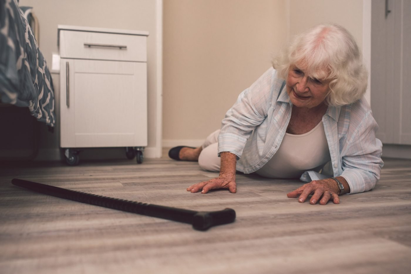 Nursing home fall and injuries